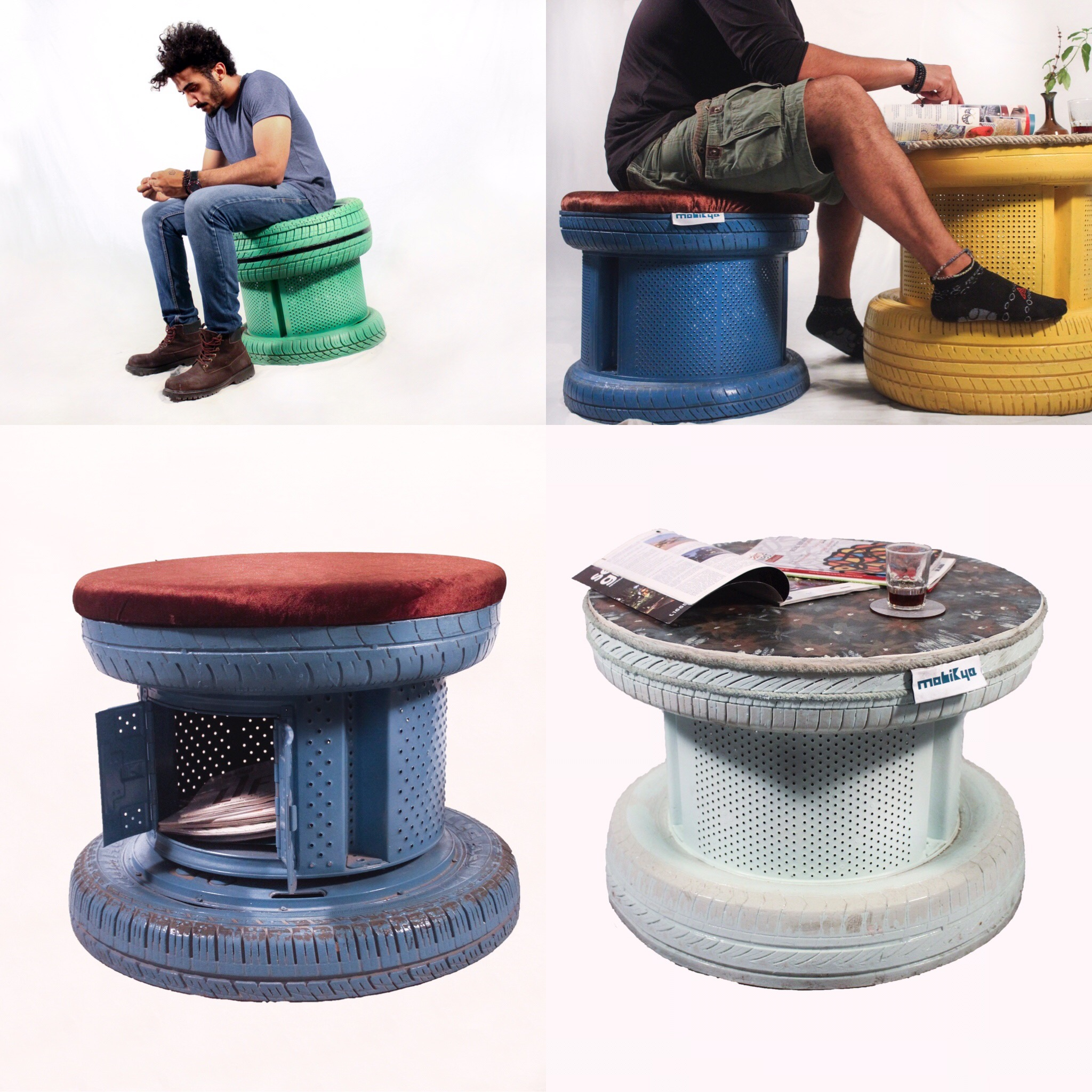 Upcycled Green Furniture Design Tires Wdcd Climate Challenge