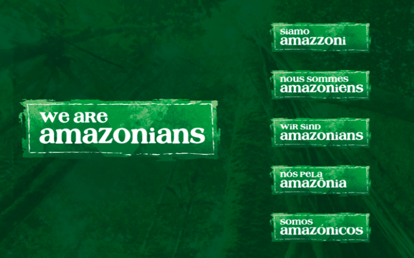 WE ARE AMAZONIANS