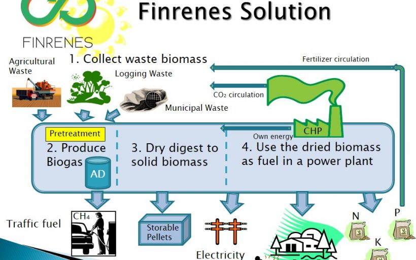 Making biofuels out of waste biomass