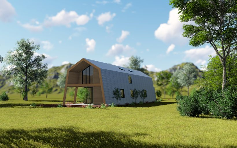 ecokit, the innovative construction system that allows anyone to build an energy efficient, autonomous house