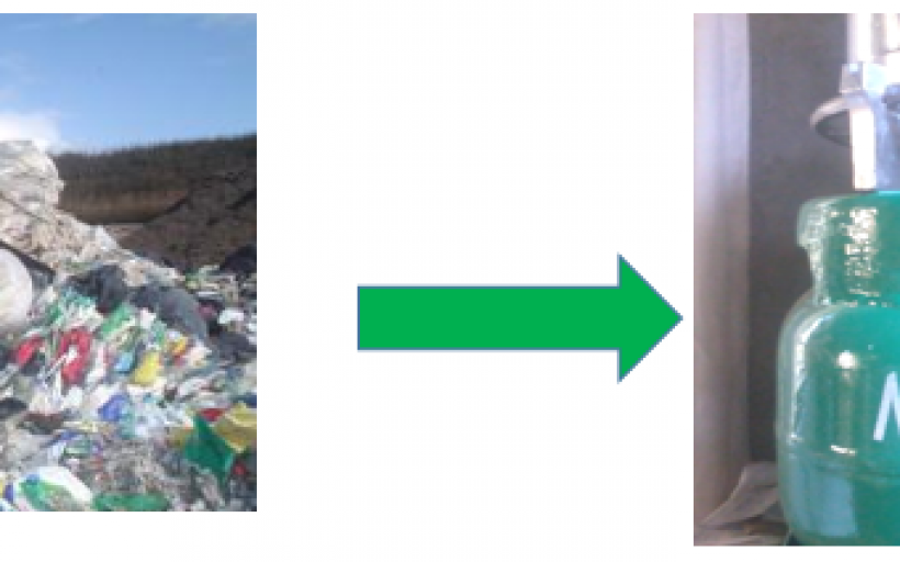 Waste Plastic to Clean Gaseous Fuel