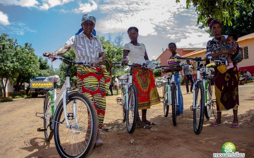 Mozambikes:  Fighting Climate Change and  Poverty with Clean, Efficient Transport – BRANDED BICYCLES