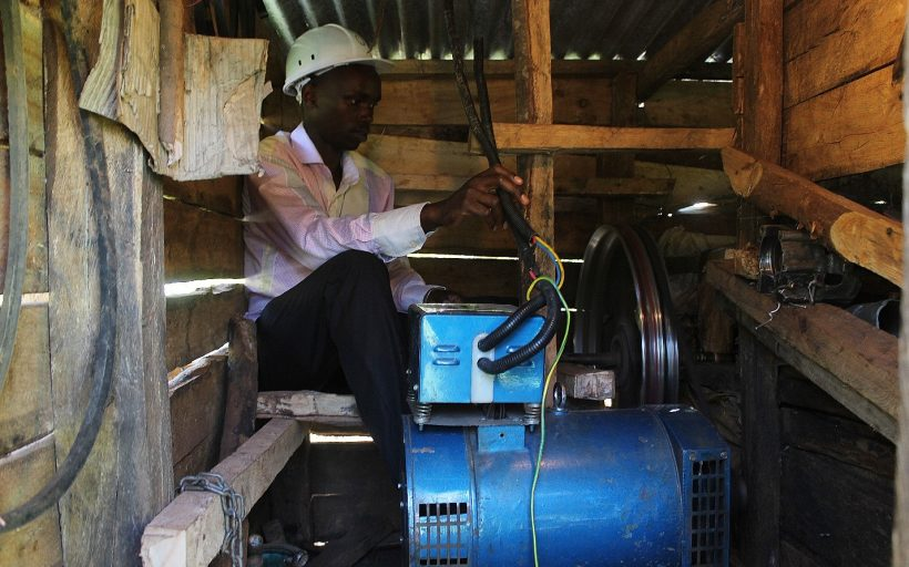 Accelerating access to electricity in rural Kenya through the Magiro Micro Hydro Power Project