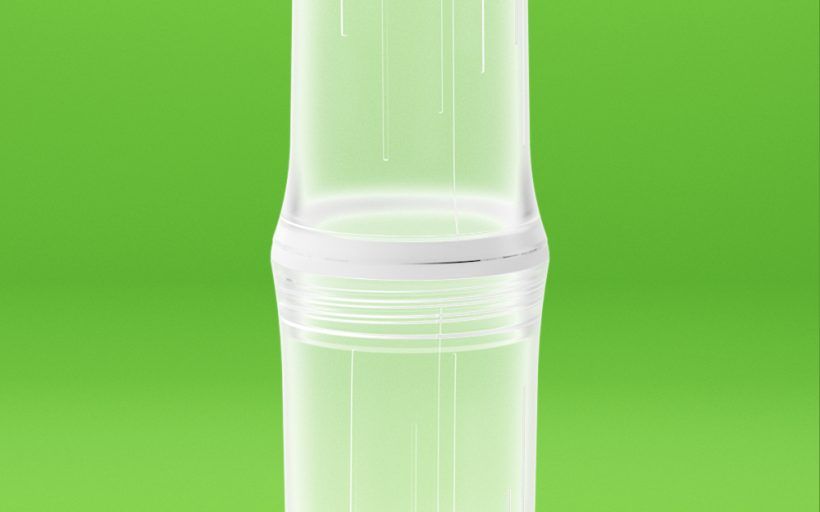 "Be-O bottle: reusable ""sugarcane"" water bottle"
