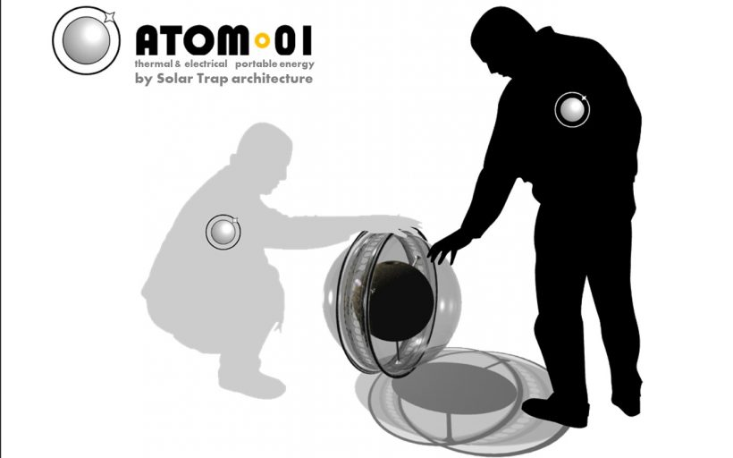 ATOM – Portable Solar Power