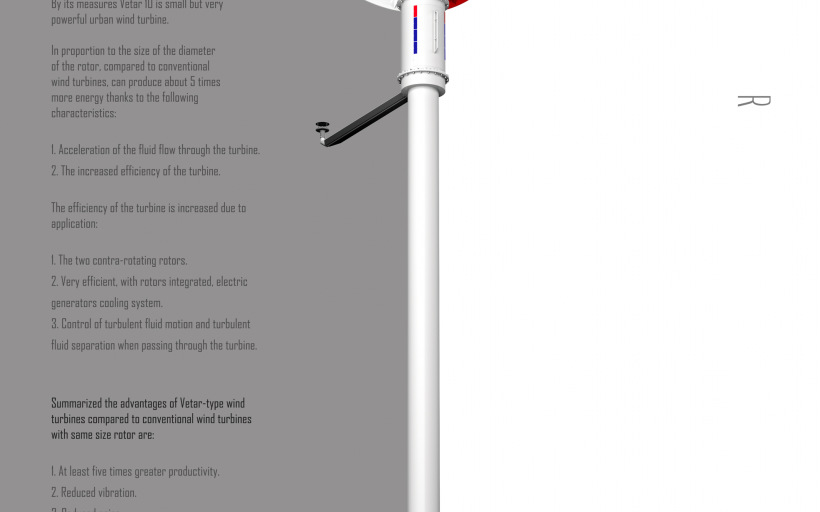 VETAR – next generation wind turbine