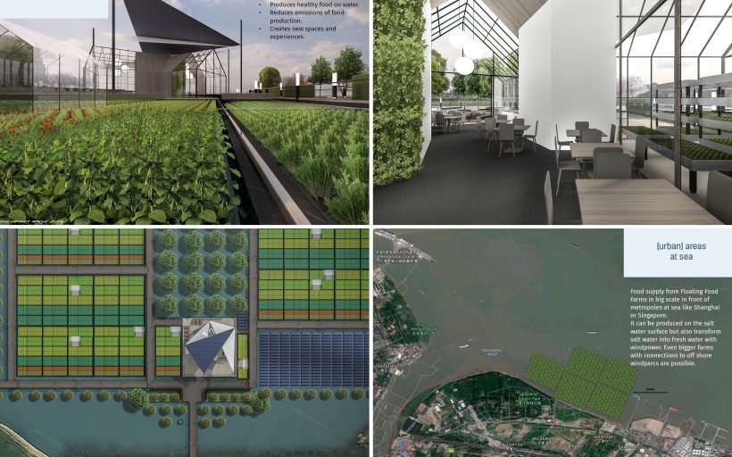 Floating Food Farm. Produce healthy food for all. Create work.