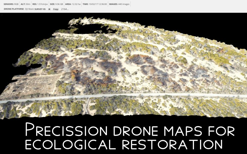Dronecoria: Open Source Restoration