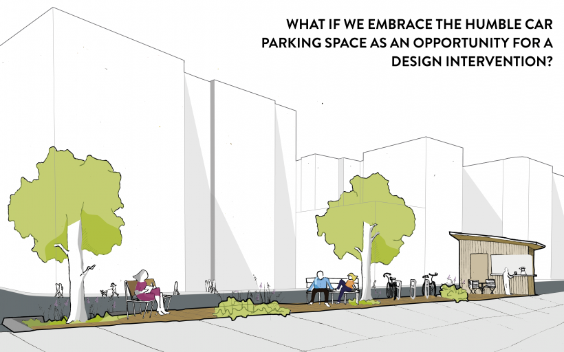 BIOSWALE PARKLET INTERVENTION