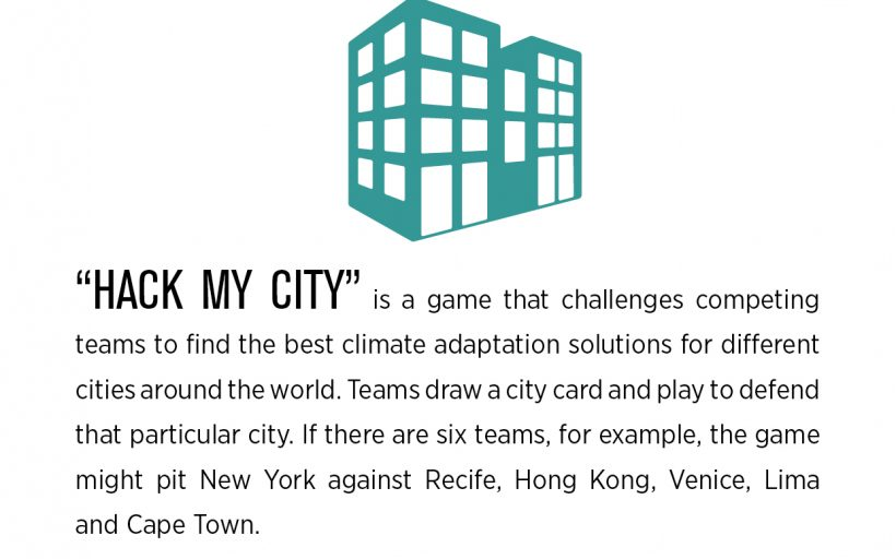 Hack My City (The Climate Adaptation Game)