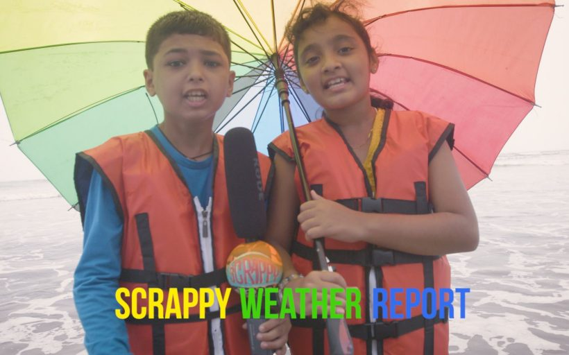 The Children's Scrappy News Service Weather Report