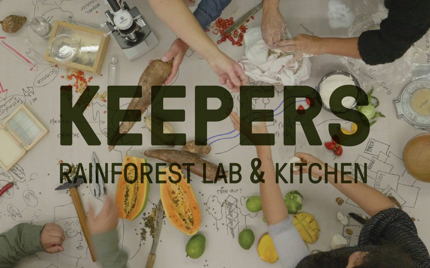 KEEPERS : RAINFOREST LAB&KITCHEN