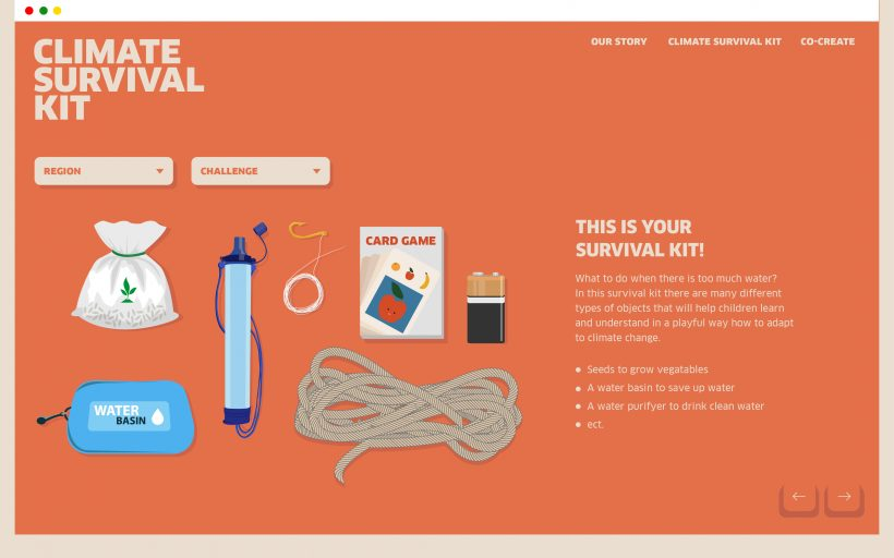 The Climate Survival Kit