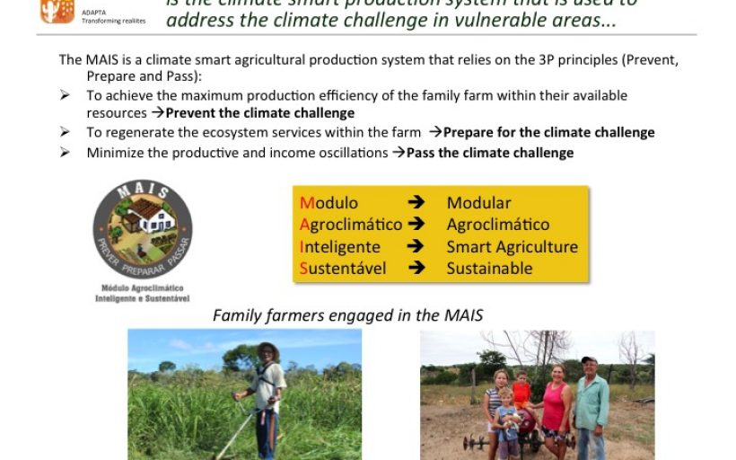 MAIS LEITE – Building climate resilience cattle farming in vulnerable areas