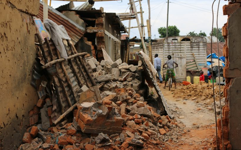 Post Earthquake Reconstruction in NW Tanzania with Environmentally Superior CSEB