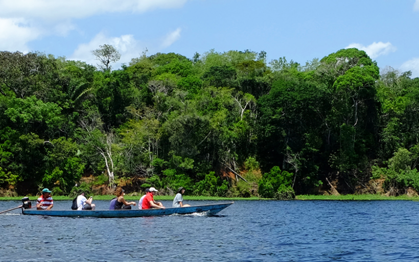 Climate Action workshop in the Amazon